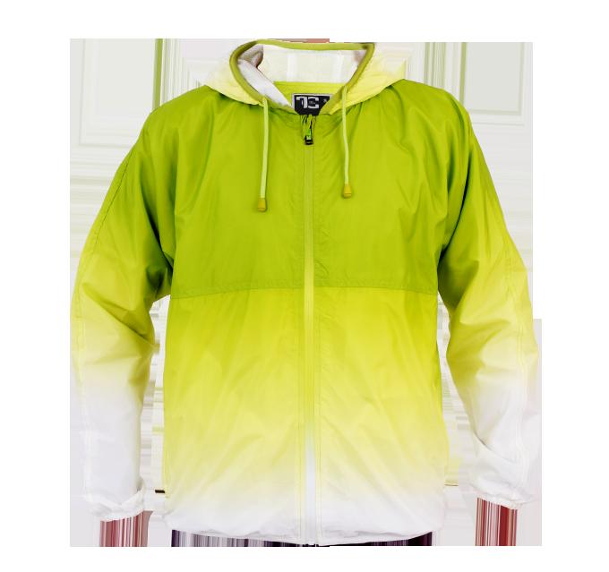 DANNY unisex bunda jasně zelená  velikost M
