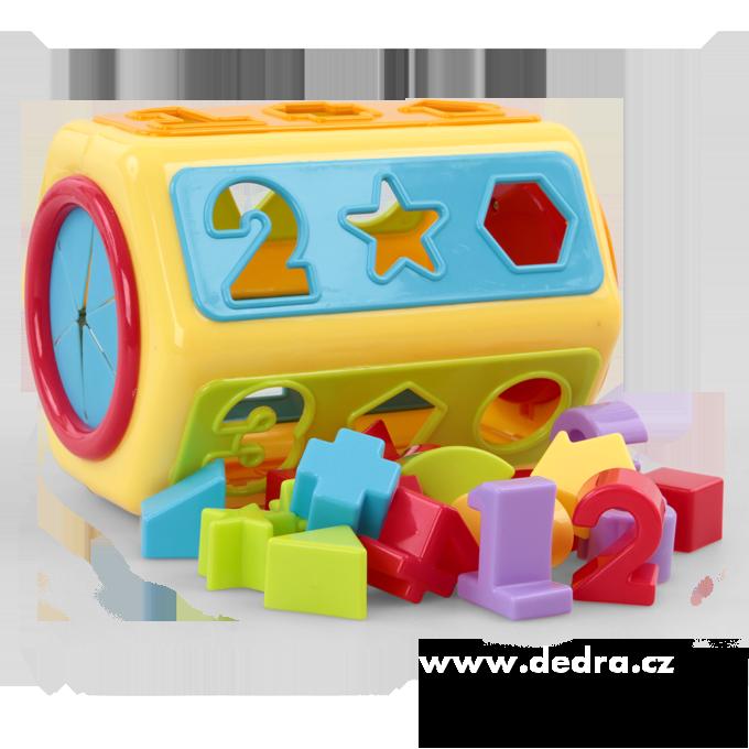 ZASTRČBOXaktivní box, hračkana vkládání tvarů