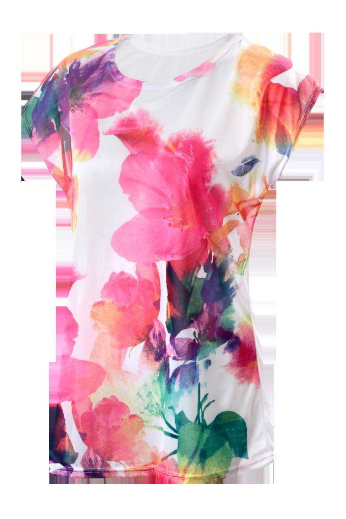 AQUARELLA dámské triko růžové S/M