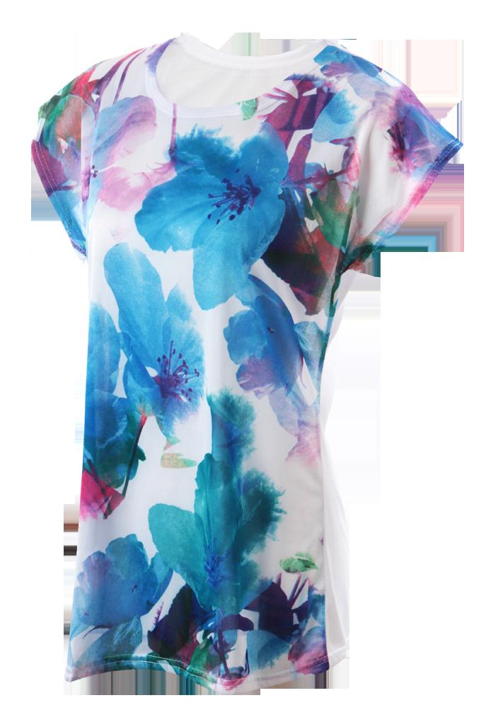 AQUARELLA dámské triko modré S/M