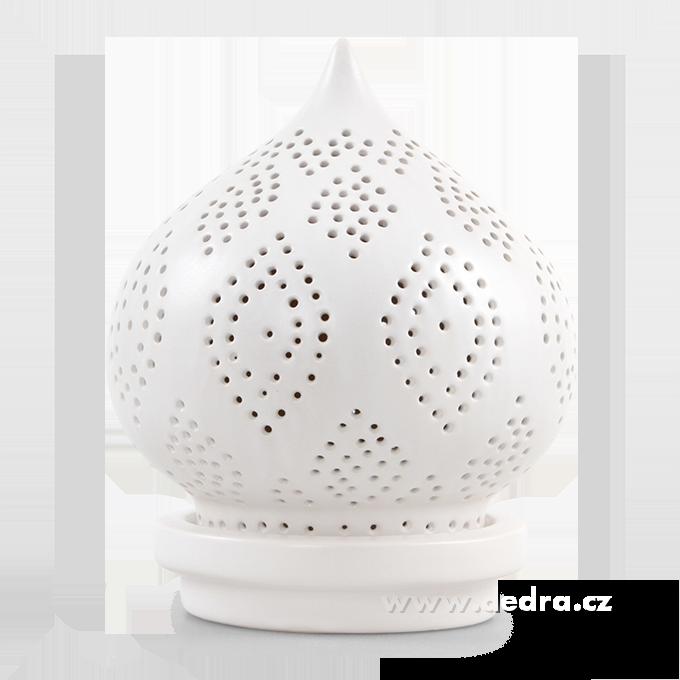 DA8103-BALI CERAMICS svietnik na čaj.svíčku výška 22,5 cm