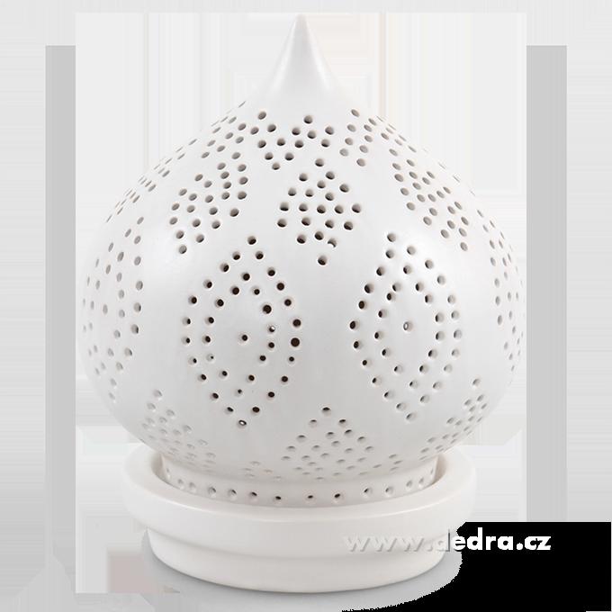 BALI CERAMICS svícen na čaj.svíčku výška 22,5 cm