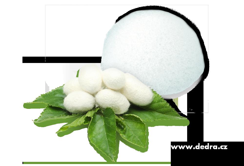 Konjak houbička silk collagen