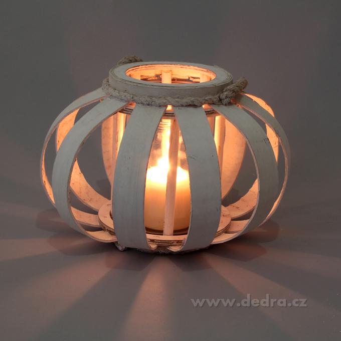Svícen/váza, dekorativní ve tvaru