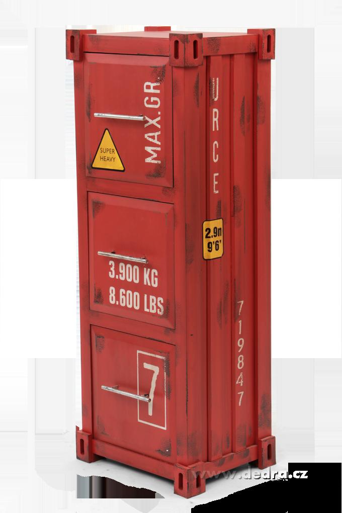 Komodová skříň, 3 velké zásuvky