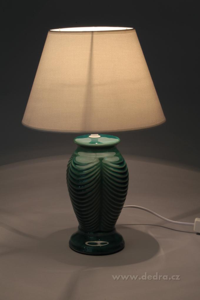 NATURE stolní lampa s keramickým stojanem