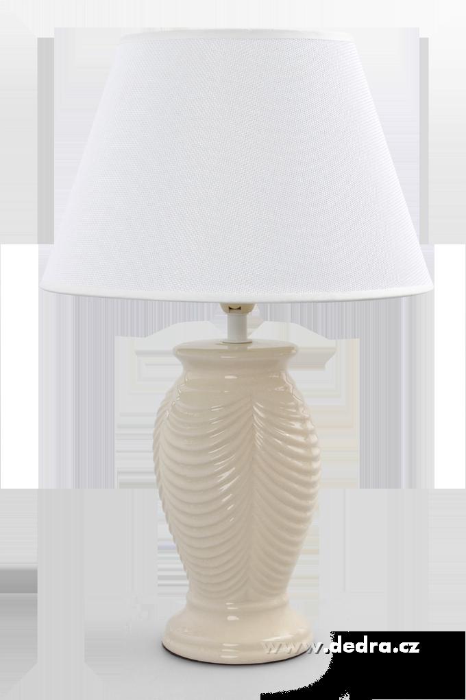 NATURE stolní lampa, krémová