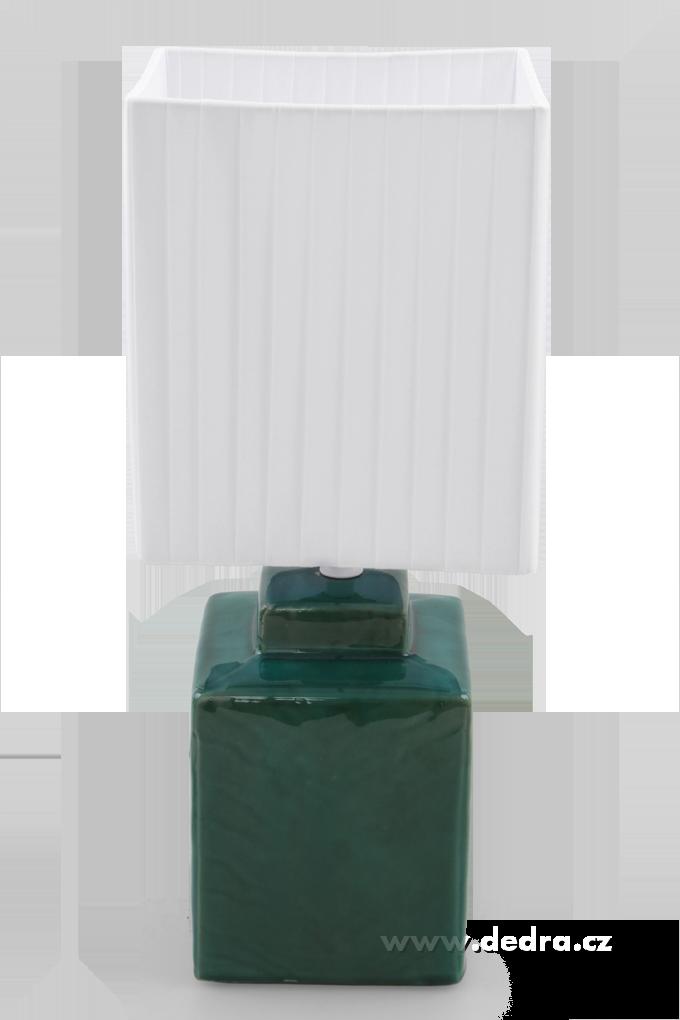 FC83511-CUBE stolná lampa 42 cm mentolová