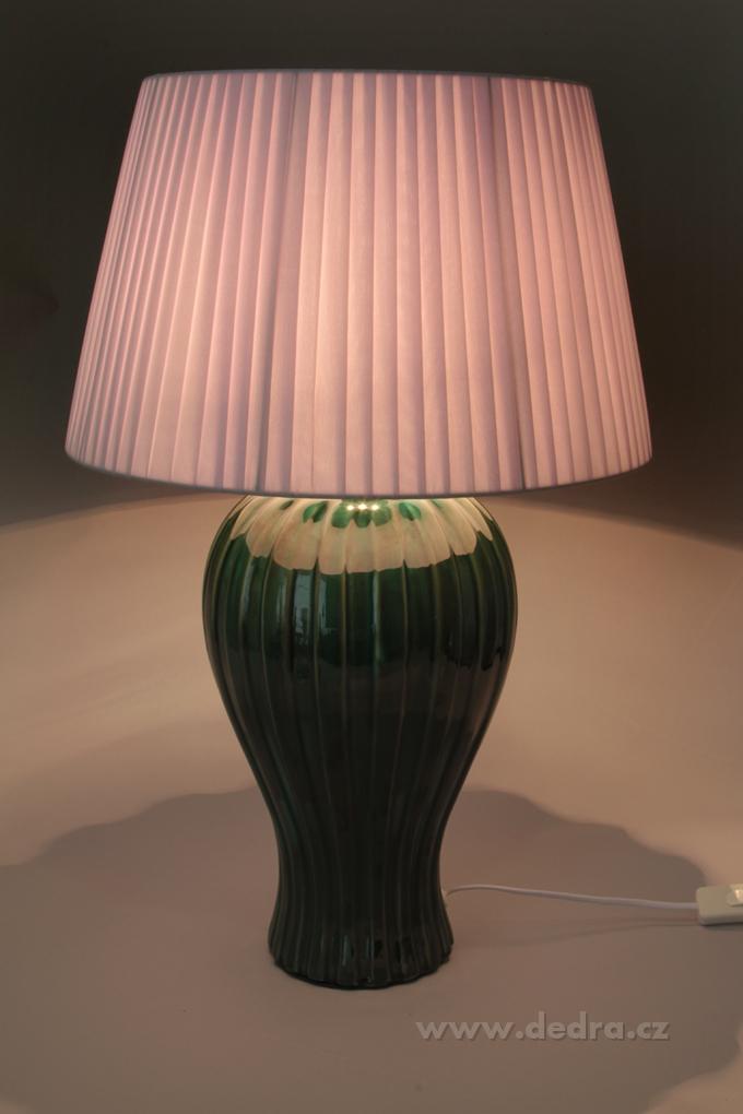FC83521-BELL XXL stolná lampa mentolová - výška 62 cm