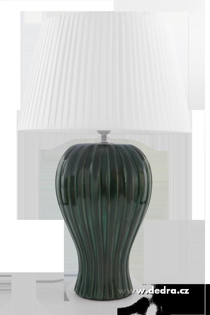 BELL XXL stolní lampa, mentolová - výška 62 cm