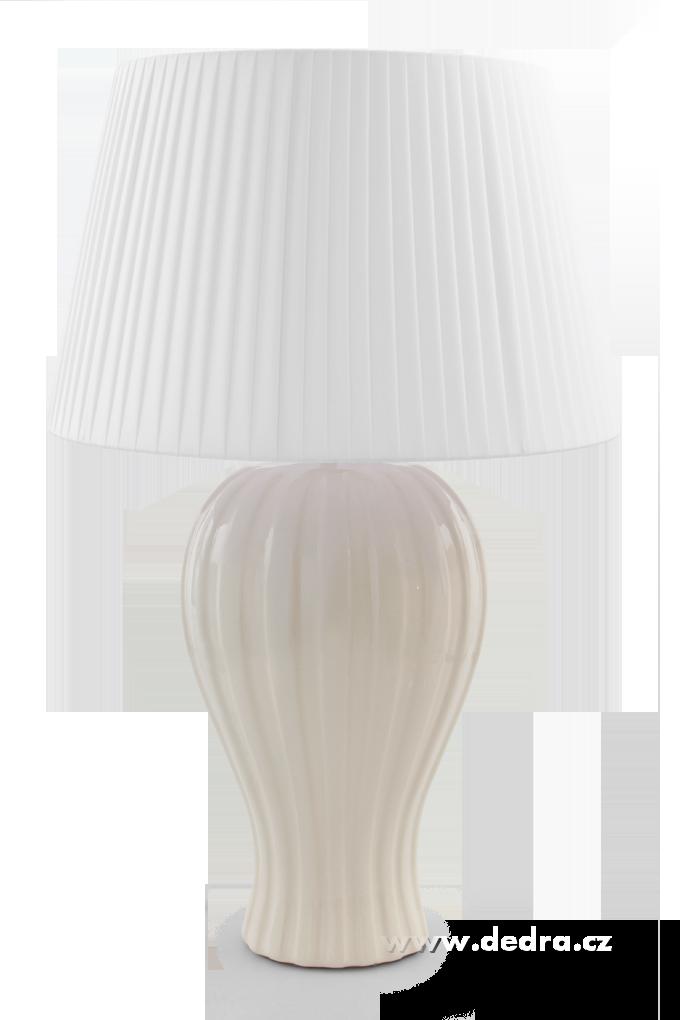 BELL XXL stolní lampa krémová - výška 62 cm