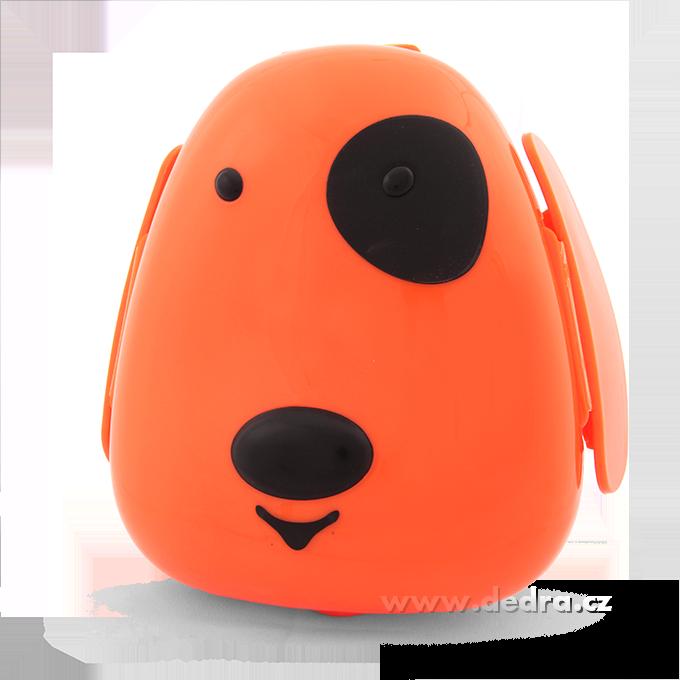 PEJSEK box na svačinu, oranžový