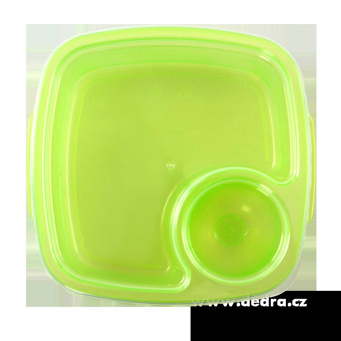 Duobox 500ml+100ml, dóza na potraviny