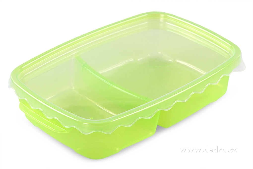 Duobox, dóza na potraviny 500 ml + 300 ml