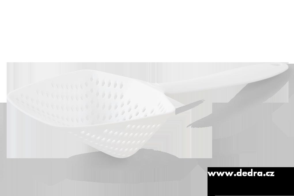 Rychlocedník cedníkový podběrák bílý