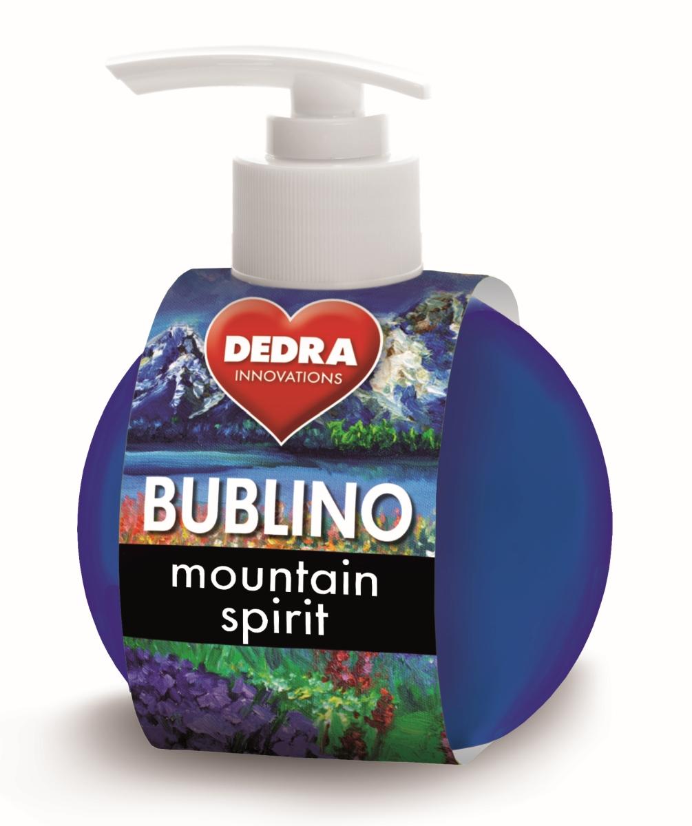 BUBLINO mountain spirit gel-krémové mýdlo