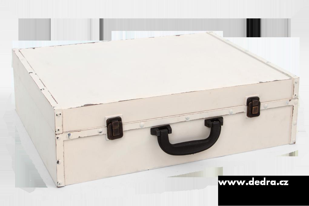 Dřevěný kufr, s patinou