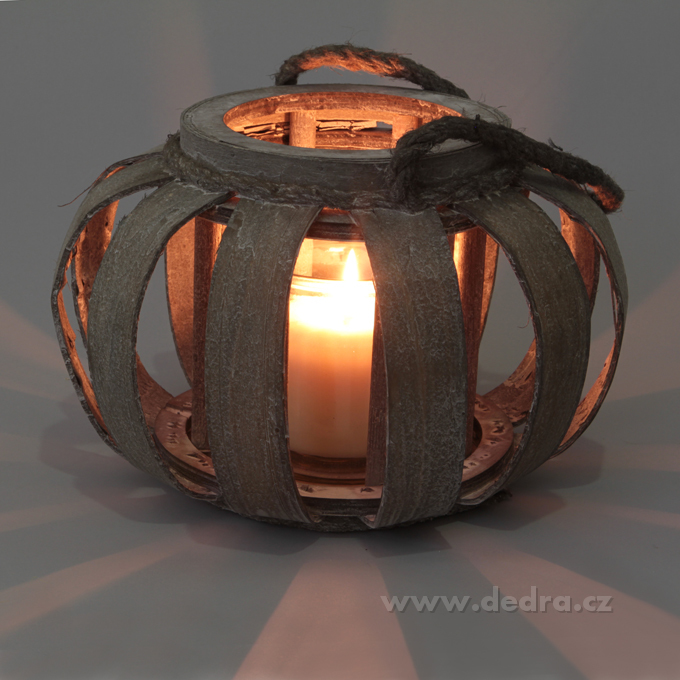 XL svícen/váza, dekorativní ve tvaru