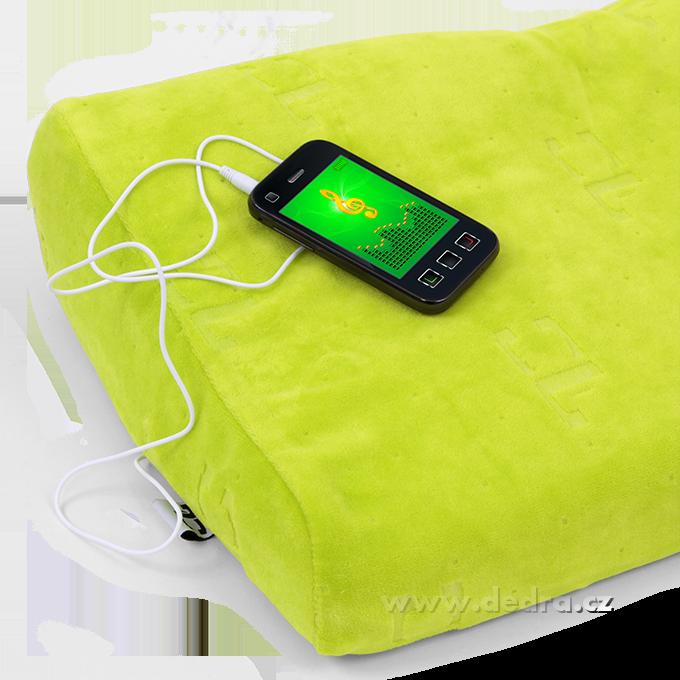 FC8451-ANATOMIXX MUSIC vankúš s pripojením na mobil a tablet z pamäťovej peny