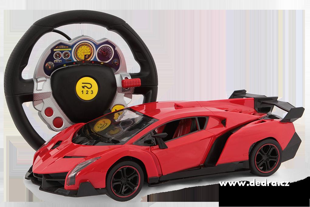 Sportovní auto, bezdrátové ovládání