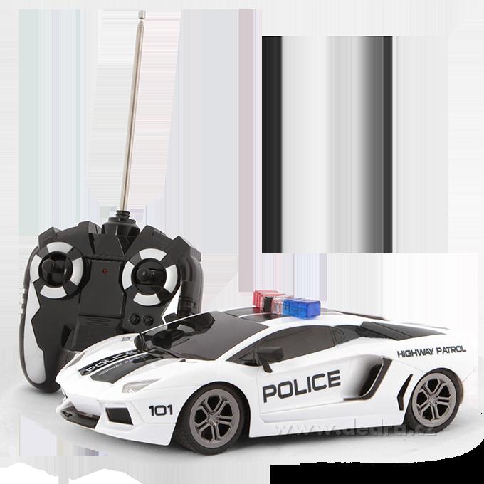 Policejní auto, bezdrátové ovládání
