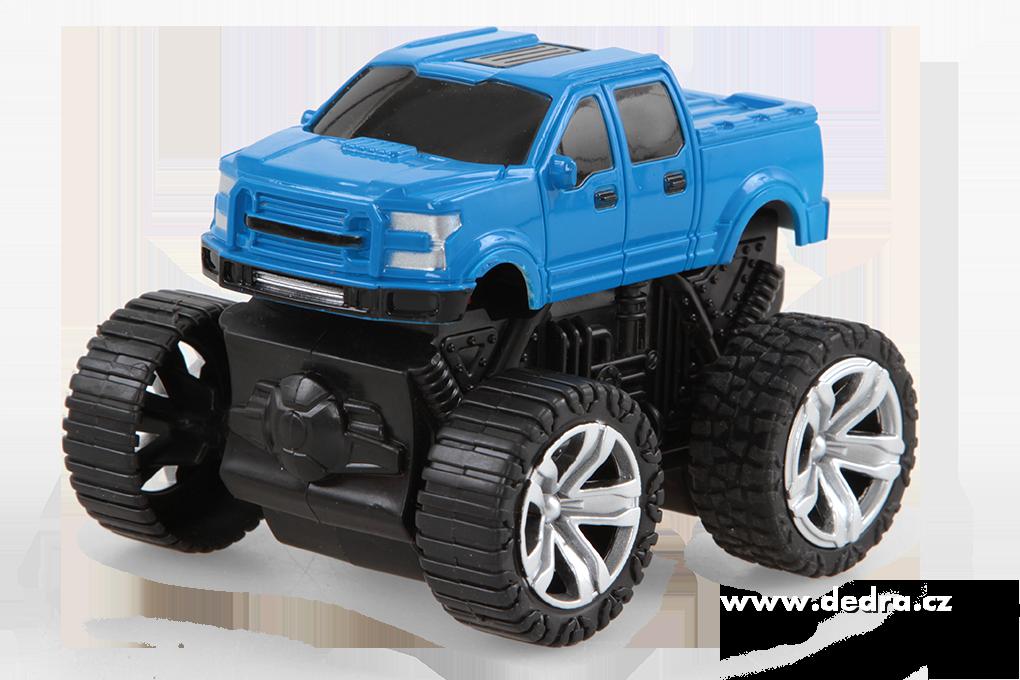 MONSTER TRUCK terénní auto SUV modrá metalíza