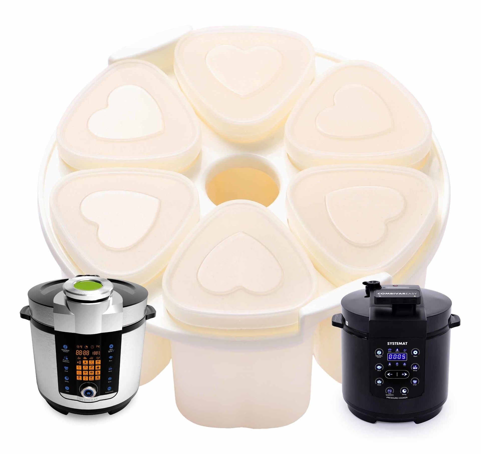 6 ks jogurtovač ke COMBIVARU®1 a COMBIVARU® EASY