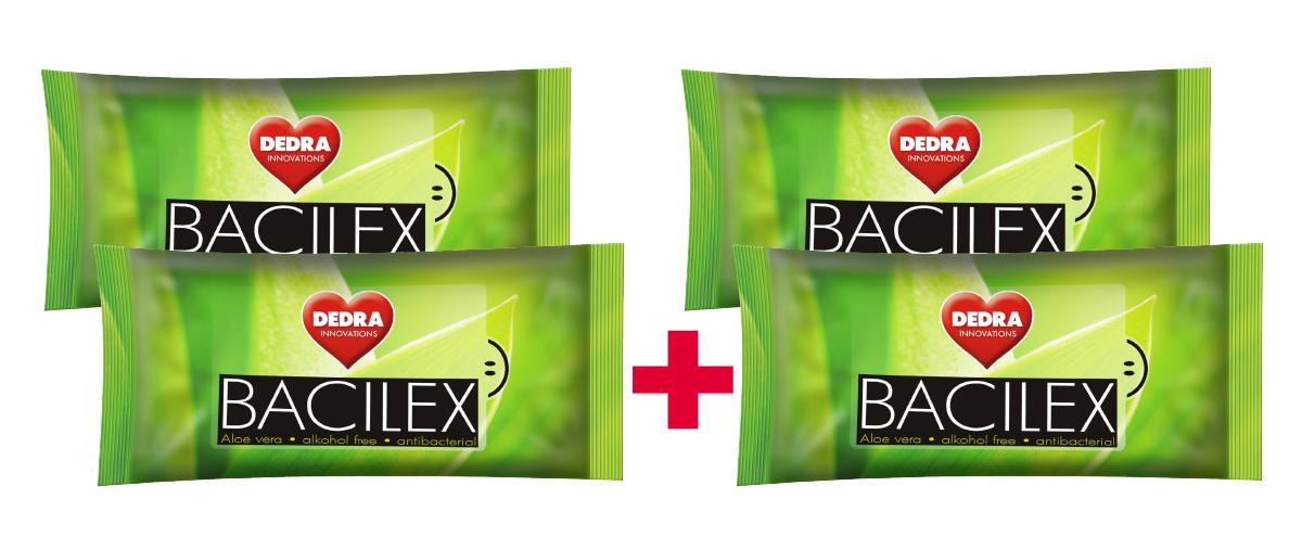 BACILEX vlhčené ubrousky  s antibakteriální přísadou