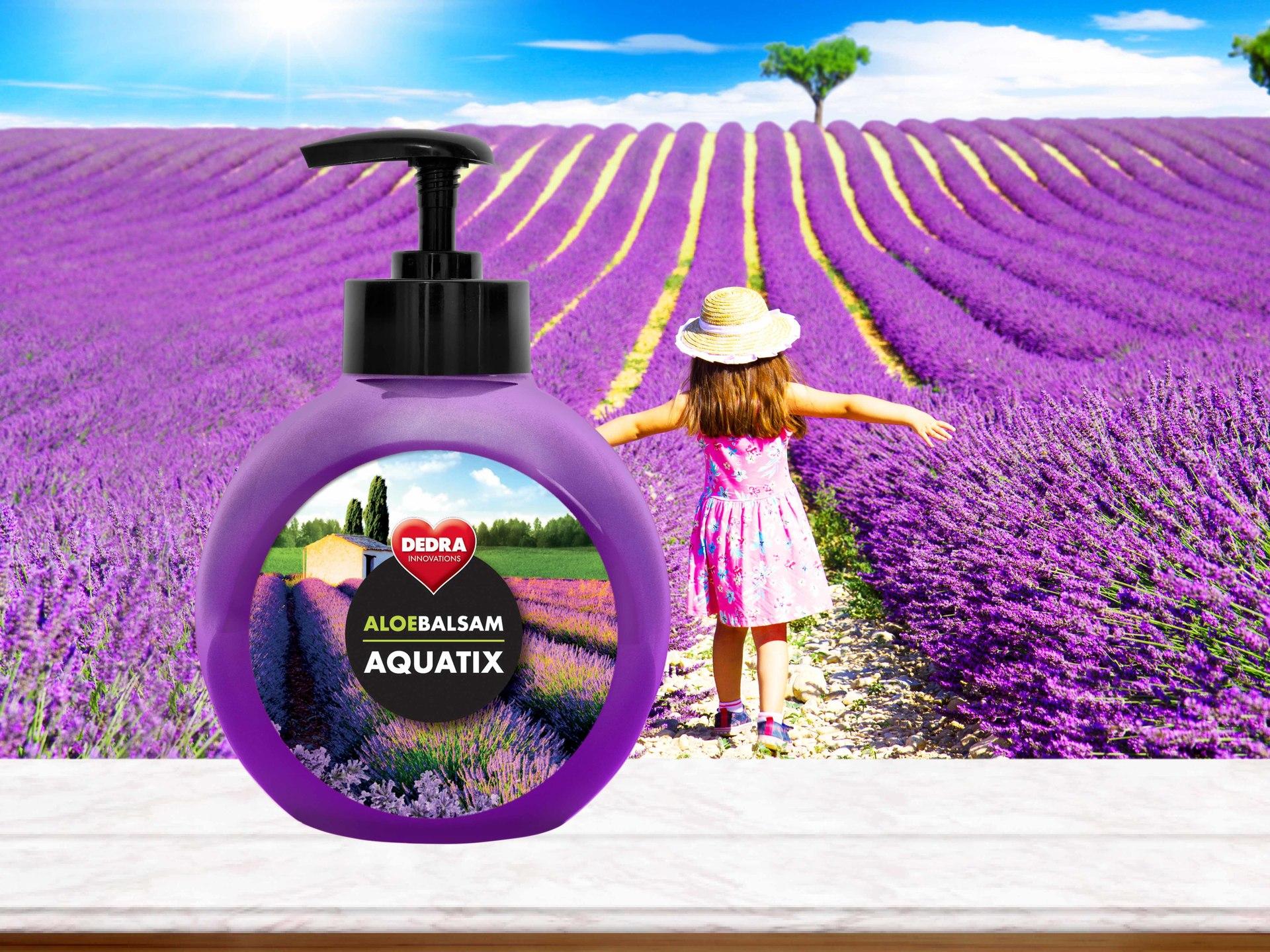 ALOEBALSAM AQUATIX relaxation, koncentrát na ruční mytí nádobí s pumpičkou
