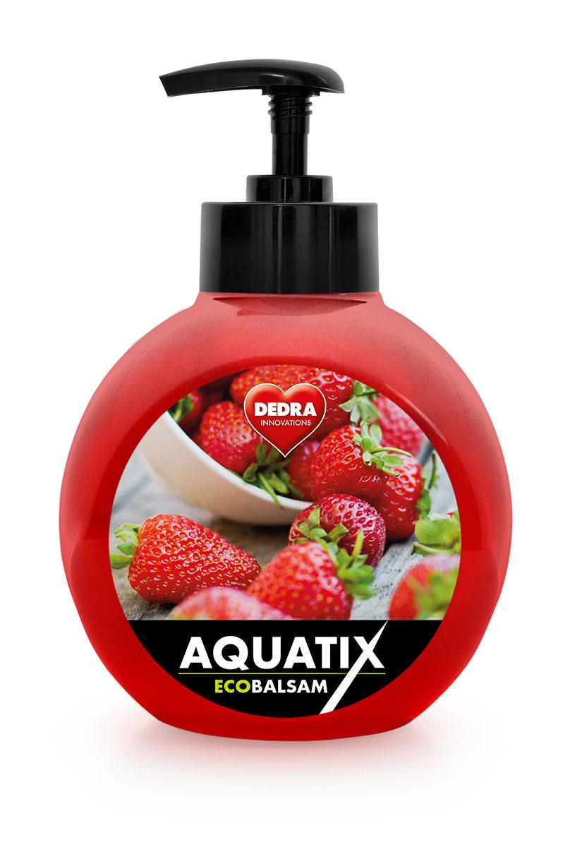 GC03091-ECOBALSAM AQUATIX koncentrát na ručné umývanie riadu, lesné jahody s pumpičkou