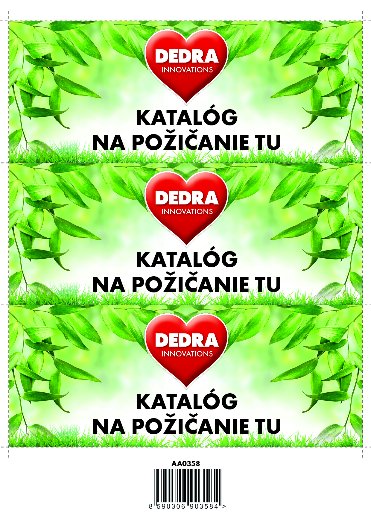 SK Samolepky, Katalóg na