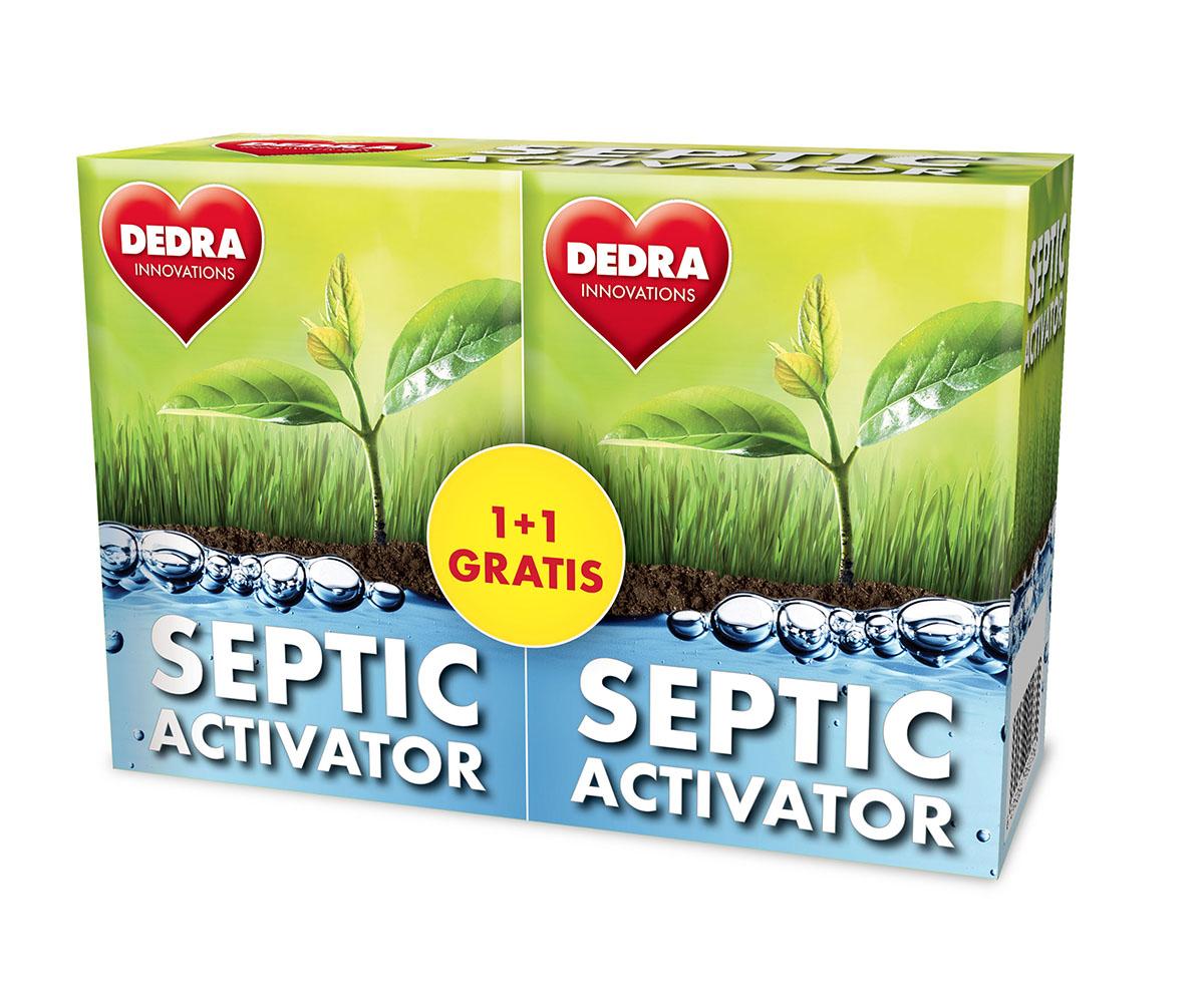 SEPTIC ACTIVATOR aktivátor septiků 1+1 GRATIS
