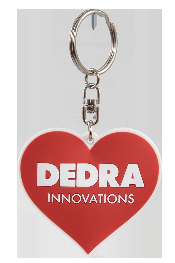 3D přívěsek - srdce DEDRA INNOVATIONS