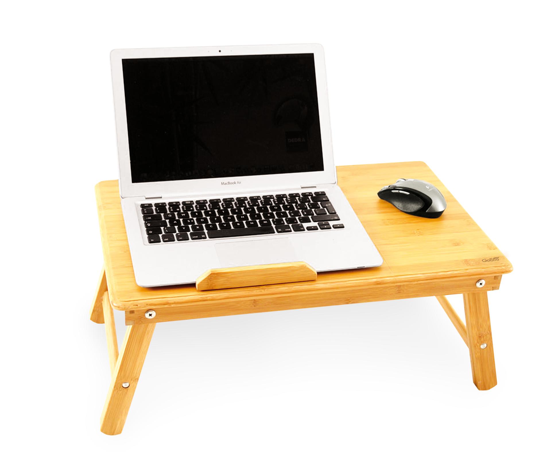 Bambusový stolek pod notebook, snídani do postele GoEco®