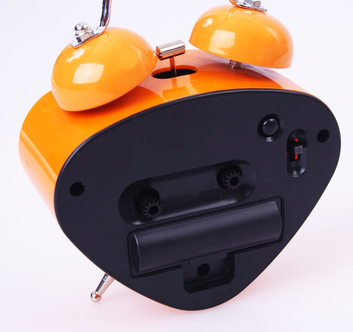 DA2148-Retrobudík oranžový na 1 Tuz. batériu v. 12 cm