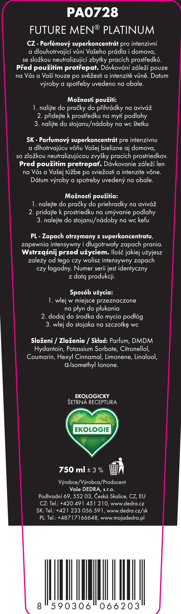 Sada 1+1 PLATINUM Parfumage® + Deotex ZDARMA