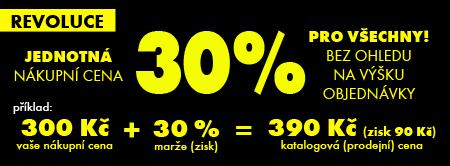 Dedra - 30% jednotná cena marže