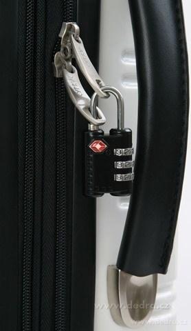 DA2679-TSA Zámok na kufor TSA čierny
