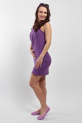 FC75442-PAREONCCINI fialové zavinovacie šaty