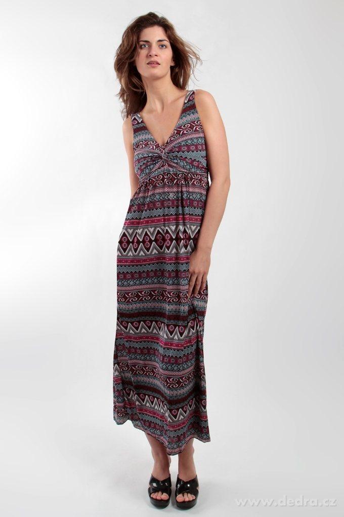 353486bb67b LACEY dlouhé šaty orientální motiv - Vaše DEDRA - oficiální stránky