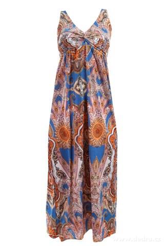 8f0eec994e0 LACEY dlouhé šaty indický motiv - Vaše DEDRA - oficiální stránky