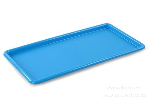 DA83705-Obdĺžnikový megatác z odolného plastu modrý