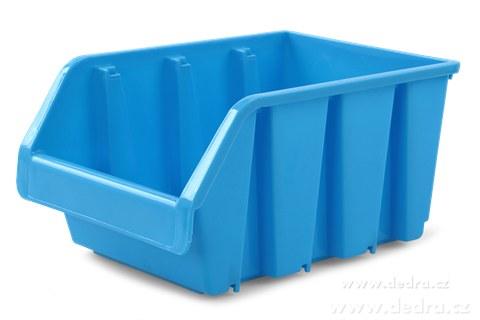 DA83803-Štosátor úložný box stohovateľný modrý