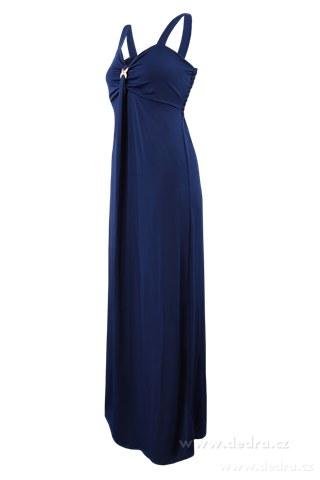 FC84721-DAPHNE dlhé šaty modré