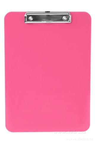 DA85272-Na stojáka podložka s klipom ružová