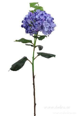 DA85663-Hortenzie modrá výška 88 cm ateliérová kvetina