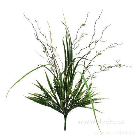 DA8572-Veľký zväzok tráv výška 76 cm ateliérová kvetina