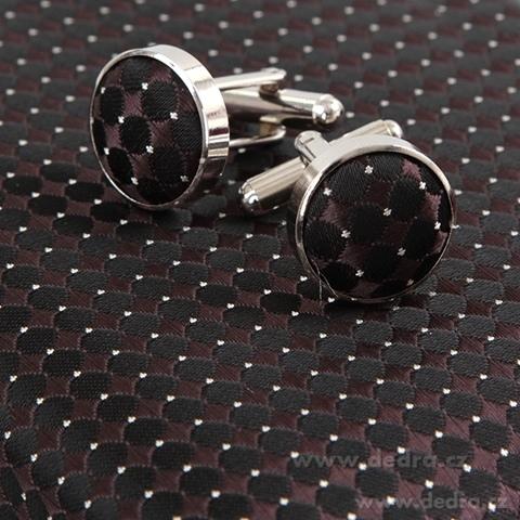 FC86283-5 dielna sada EĽRO kravata, vreckovka a 2 ks gombíkov
