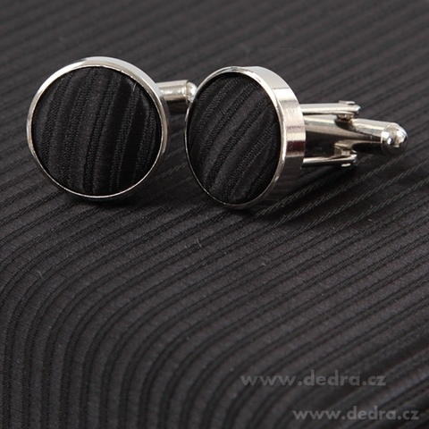 FC86303-5 dielna sada EĽRO kravata, vreckovka a 2 ks gombíkov