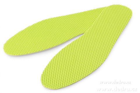 DA86383-2ks vložky do topánok univerzálne zelené
